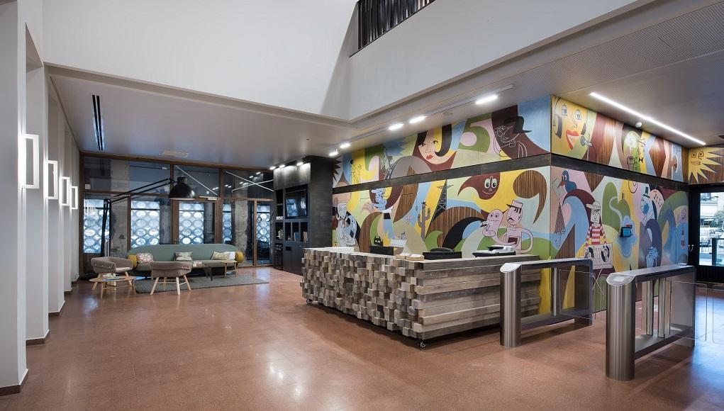 משרדי חברת פייבר. צילום: עמית גושר